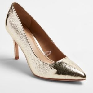 A New Day Gold Foil Gemma Heels New